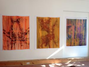 Selection of Shrouds at Somos, Berlin as part of the Transient Transgressions exhibit, 2015.